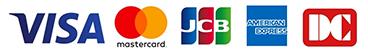 渋谷ヘアサロン1214の各種クレジットカード