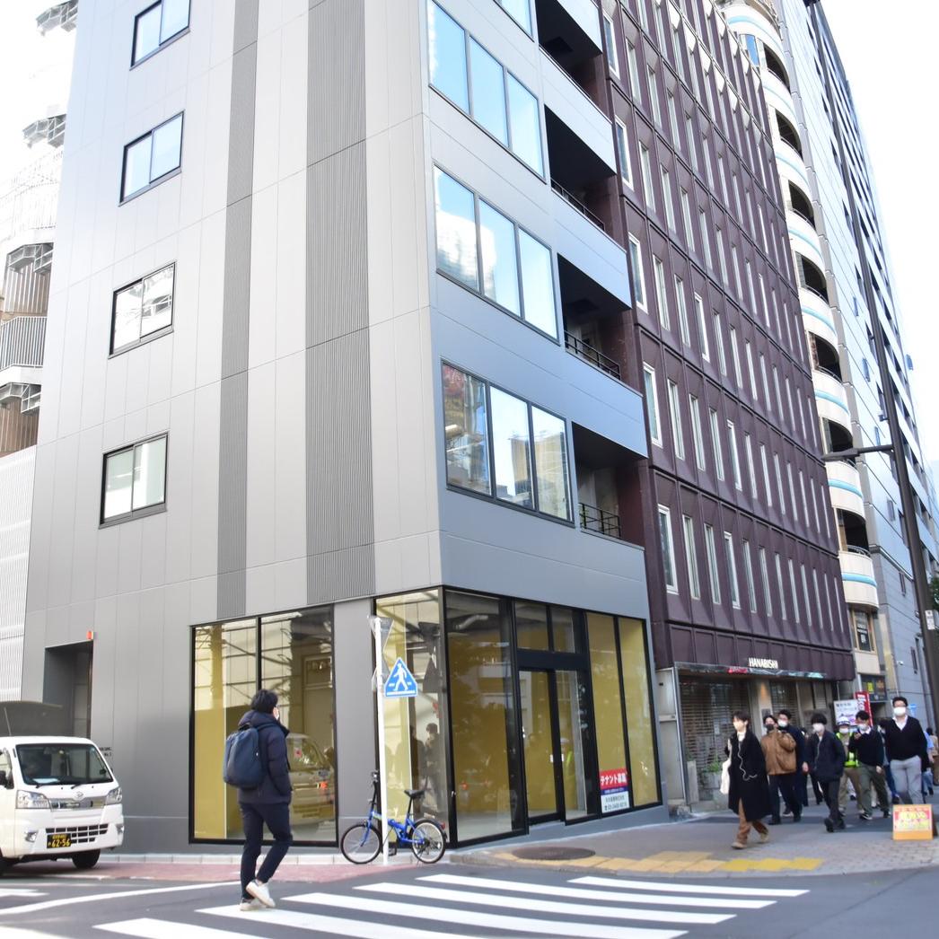 渋谷のヘアサロン1214の外観